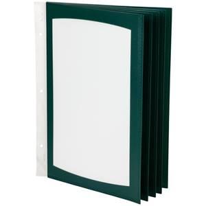 Einschubtaschen Größe DIN A4 grün