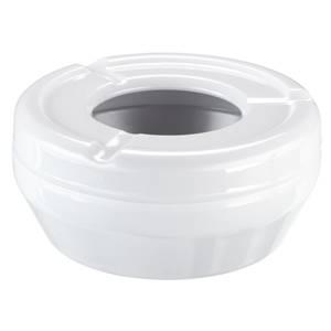 Aschenbecher Mall 0.3l, 10x4 cm (ØxH) weiß rund