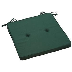 Sitzkissen Alabama 41x41x3 cm (BxLxH) grün quadratisch