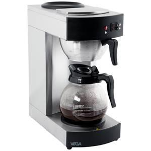 Kaffeemaschine 1.8l, 19.5x43.2x36.5 cm (BxHxT) schwarz/silber