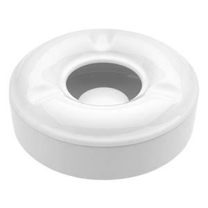 Windaschenbecher 12x5 cm (ØxH) weiß rund