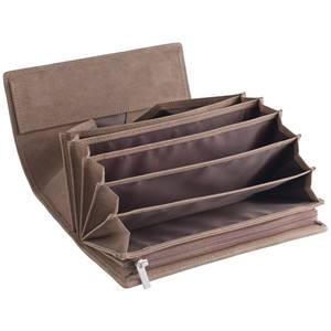 Geldbörse Apuro 19x10.8 cm (LxB) braun rechteckig