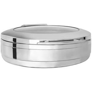 Chafing Dish Fenton 6l, 44x54x16 cm (BxTxH) silber rund