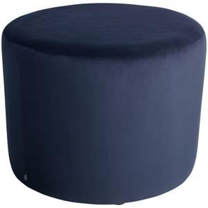 Hocker Lenny 70x47 cm (ØxH) dunkelblau zylinderförmig