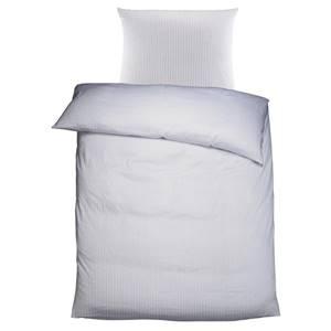 Bettwäsche Louisville 135x200 cm (BxL), 80x80 cm (BxL) weiß/grau
