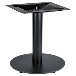Tischsäule Fino rund 43x45 cm (ØxH) schwarz rund