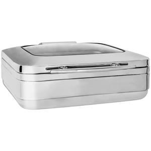 Chafing-Dish Fenton GN 2/3 Größe GN 2/3, 6l, 41x48x16 cm (BxTxH) silber