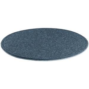 Filzkissen Feltro rund 33x1 cm (ØxH) anthrazit/hellgrau rund