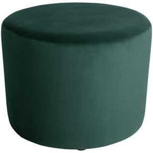 Hocker Lenny 70x47 cm (ØxH) tannengrün zylinderförmig