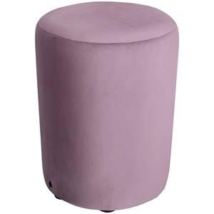 Hocker Lenny 42x47 cm (ØxH) rosa zylinderförmig