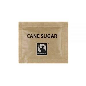 Fair Trade Zuckerbriefchen, Demerara, braun