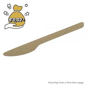 Mehrweg Bio-Messer 18 cm, natur