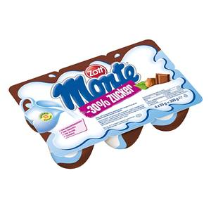Zott Monte -30% zuckerreduziert 6x55g