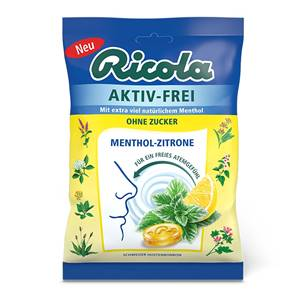 RICOLA MENTHOL-ZITRONE O.Z.75G