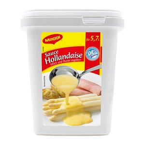 SAUCE HOLLANDAISE VEG. MG.600G
