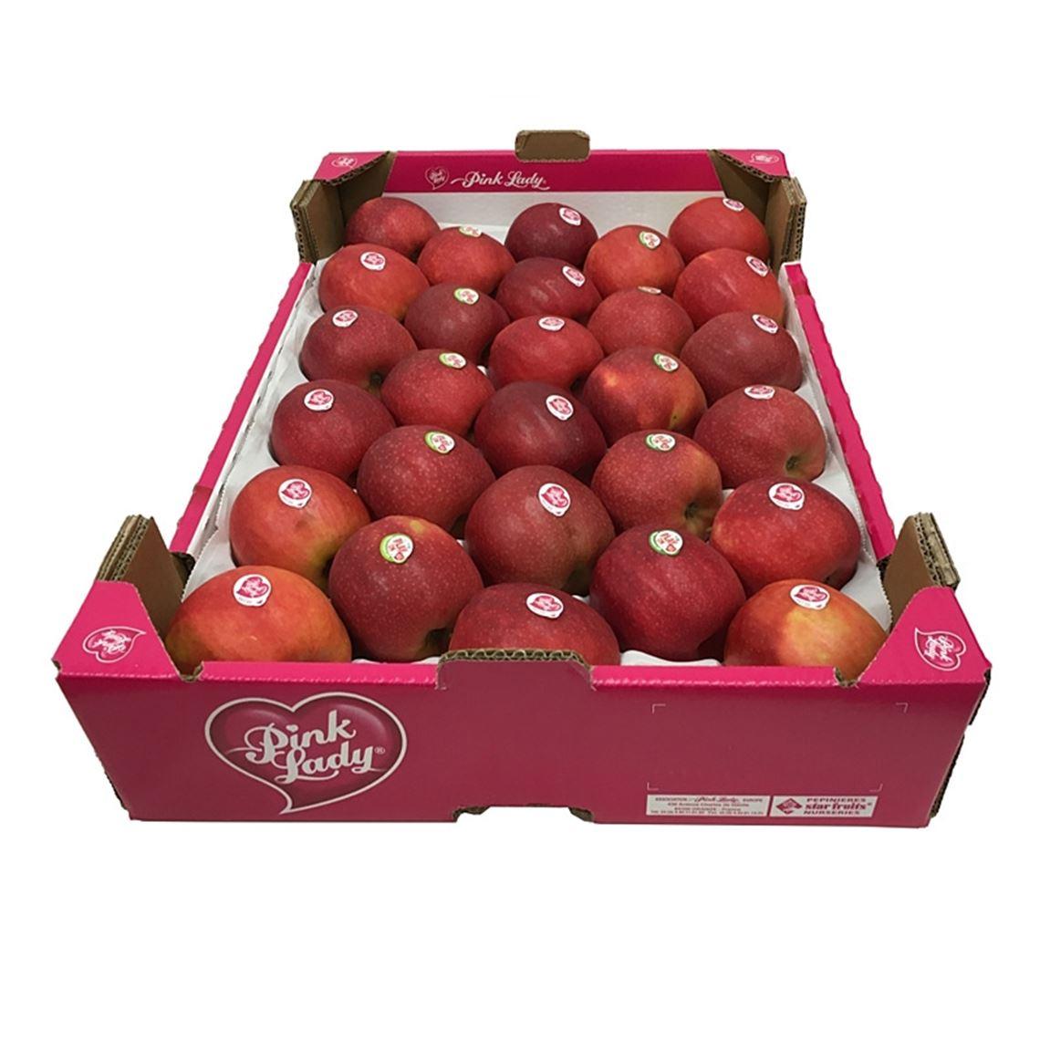 Äpfel Pink Lady Klasse I