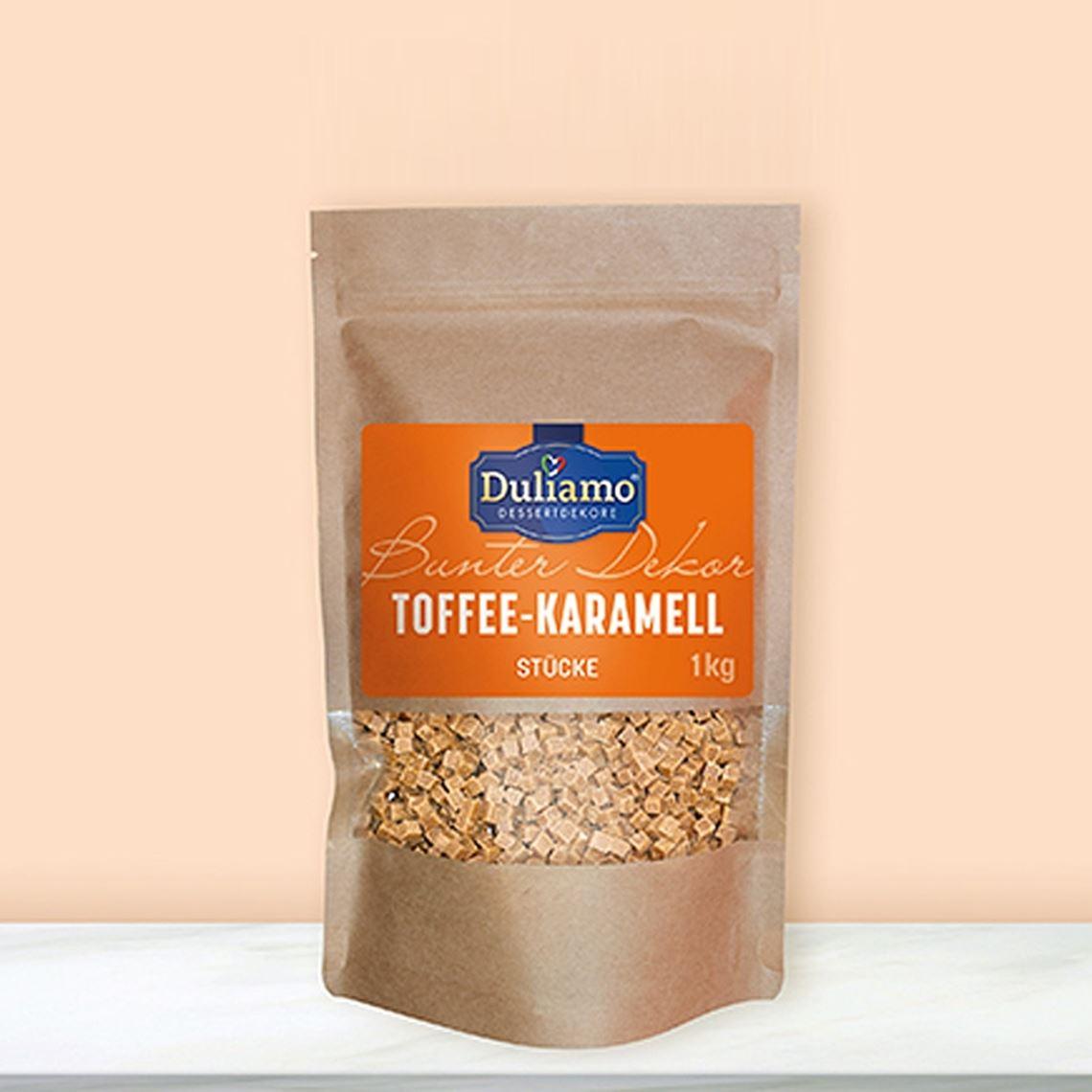 TOFFEE-KARAMELLSTÜCKE      1KG