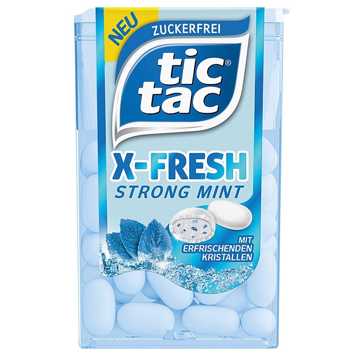 TIC TAC X-FRE.MINT   FER.16,4G