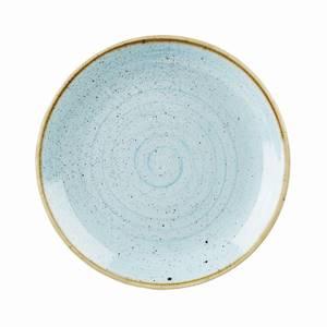 Teller flach coup Stonecast duck egg blue 32cm 6 Stück