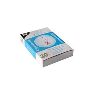 Hygienebeutel 28,5 cm x 8 cm x 7 cm weiss im Spenderkarton
