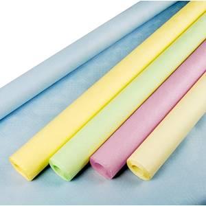 Papiertischtuch mit Damastprägung 8 m x 1 m farbig sortiert