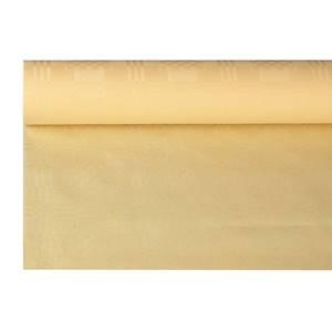 Papiertischtuch mit Damastprägung 6 m x 1,2 m creme