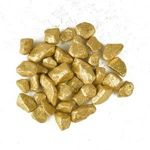Deko - Steine 450 ml gold 'Glittertree' 9 - 13 mm