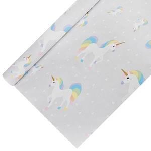 Tischdecke, Papier 5 m x 1,2 m 'Unicorn' lackiert