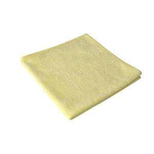 Microfasertücher 40 cm x 40 cm gelb Stretch