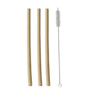 Trinkhalme, Bambus pure Ø 1 cm · 23 cm inkl. Reinigungsbürste