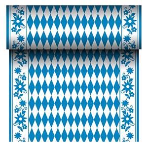 Tischläufer, stoffähnlich, Airlaid 24 m x 40 cm 'Bayrisch Blau'
