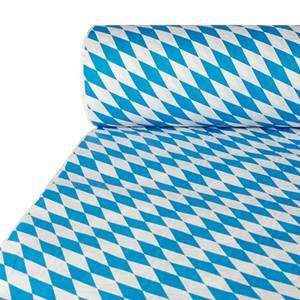 Papiertischtuch mit Damastprägung 50 m x 1 m 'Bayrisch Blau'