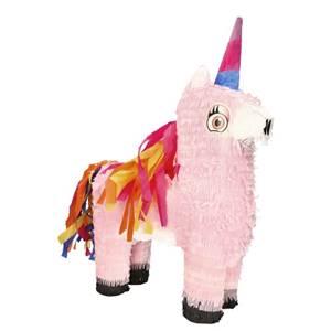 Pinata 54,5 cm x 42,5 cm x 15 cm farbig 'Unicorn'