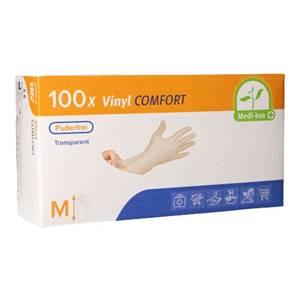 Medi-Inn® PS Handschuhe, Vinyl puderfrei Comfort Größe M