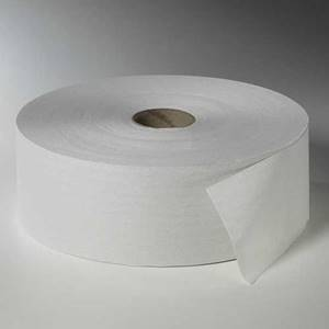 Toilettenpapier, 2-lagiges Tissue Ø 26 cm · 380 m x 10 cm weiss 'Maxi Rollen'