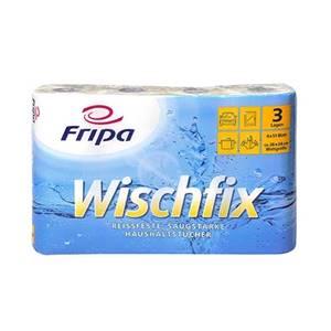 Küchenrollen 3-lagig 26 cm x 24 cm weiss 'Wischfix' 51 Blatt