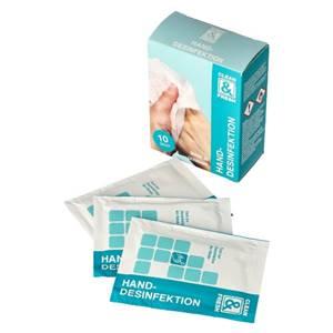 Clean&Fresh Desinfektionstücher 14 cm x 19 cm weiss