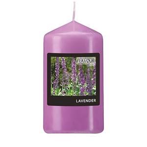 Flavour by GALA Duft-Stumpenkerze Ø 58 mm · 110 mm violett - Lavender