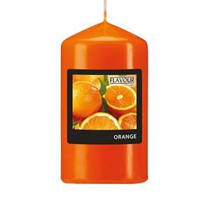 Flavour by GALA Duft-Stumpenkerze Ø 58 mm · 110 mm orange - Orange