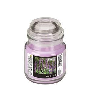 Flavour by GALA Bonbonglas mit Wachsfüllung Ø 63 mm · 85 mm violett - Lavender