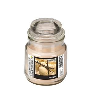 Flavour by GALA Bonbonglas mit Wachsfüllung Ø 63 mm · 85 mm creme - Vanilla