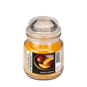 Flavour by GALA Bonbonglas mit Wachsfüllung Ø 63 mm · 85 mm pfirsich - Mango-P