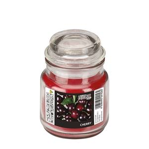 Flavour by GALA Bonbonglas mit Wachsfüllung Ø 63 mm · 85 mm bordeaux - Cherry