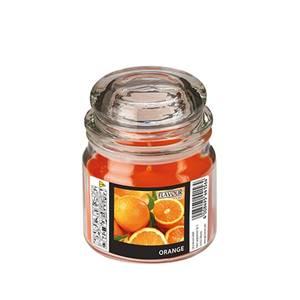 Flavour by GALA Bonbonglas mit Wachsfüllung, MAXI Ø 90 mm · 120 mm orange - Or