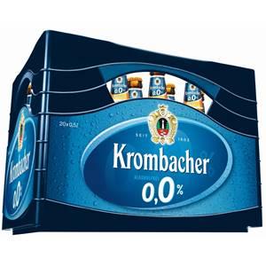 Krombacher 0,0% Weizen alkoholfrei