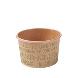 Papp-Eisbecher 150 ml / 6 oz, ungebleicht, EcoUp